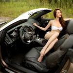 Ngôi sao người mẫu Khánh My khoe dáng nóng bỏng bên siêu xe