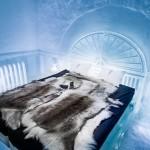 Bên trong khách sạn băng mở cửa quanh năm ở Thụy Điển